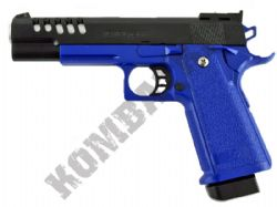 XK918 1911 Airsoft BB Gun 2 Tone Black and Blue